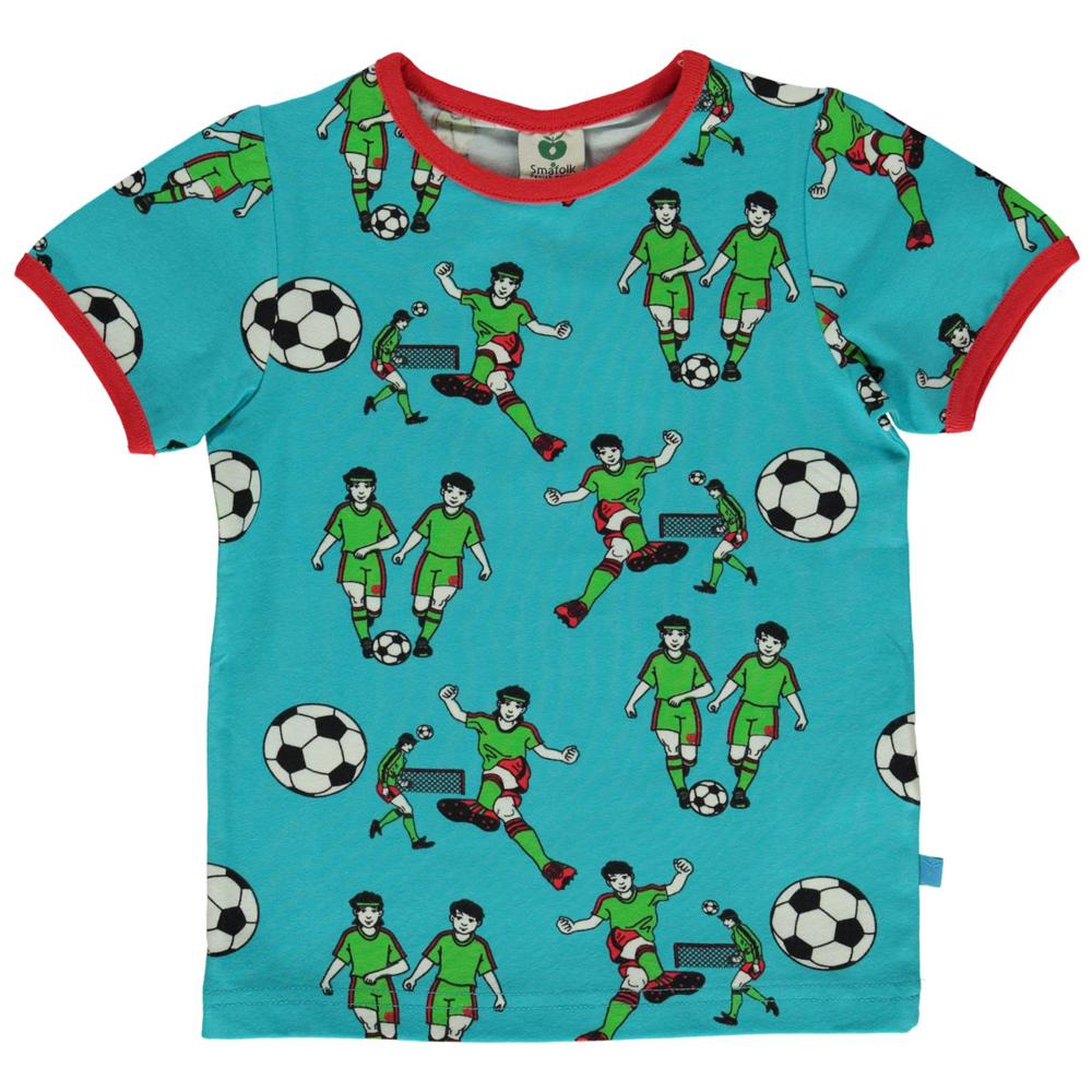 Småfolk - Long Sleeve T-shirt with Soccer