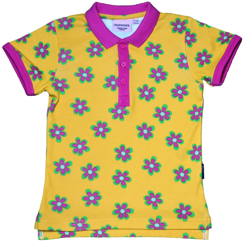 Moromini - Short sleeve Polo shirt - Forest flowers
