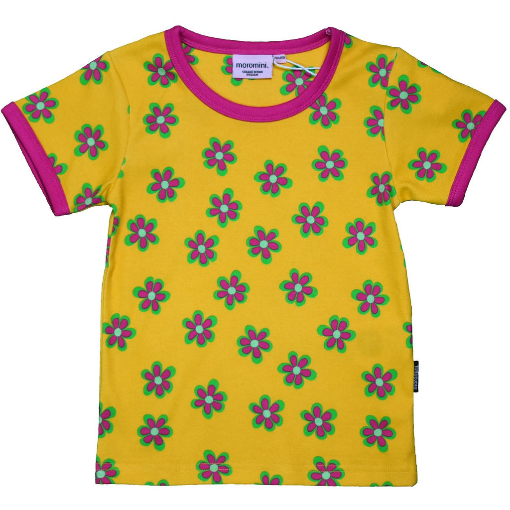 Moromini - Top Short Sleeve - Forest flowers