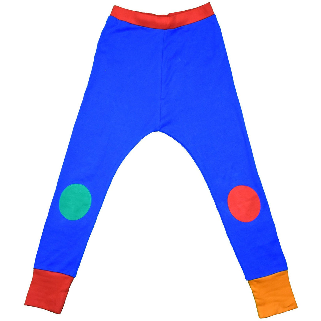 Moromini - Block Colour Pants - Blue/Red/Green/Yellow (last two sz 8-9Y & 9-10Y)