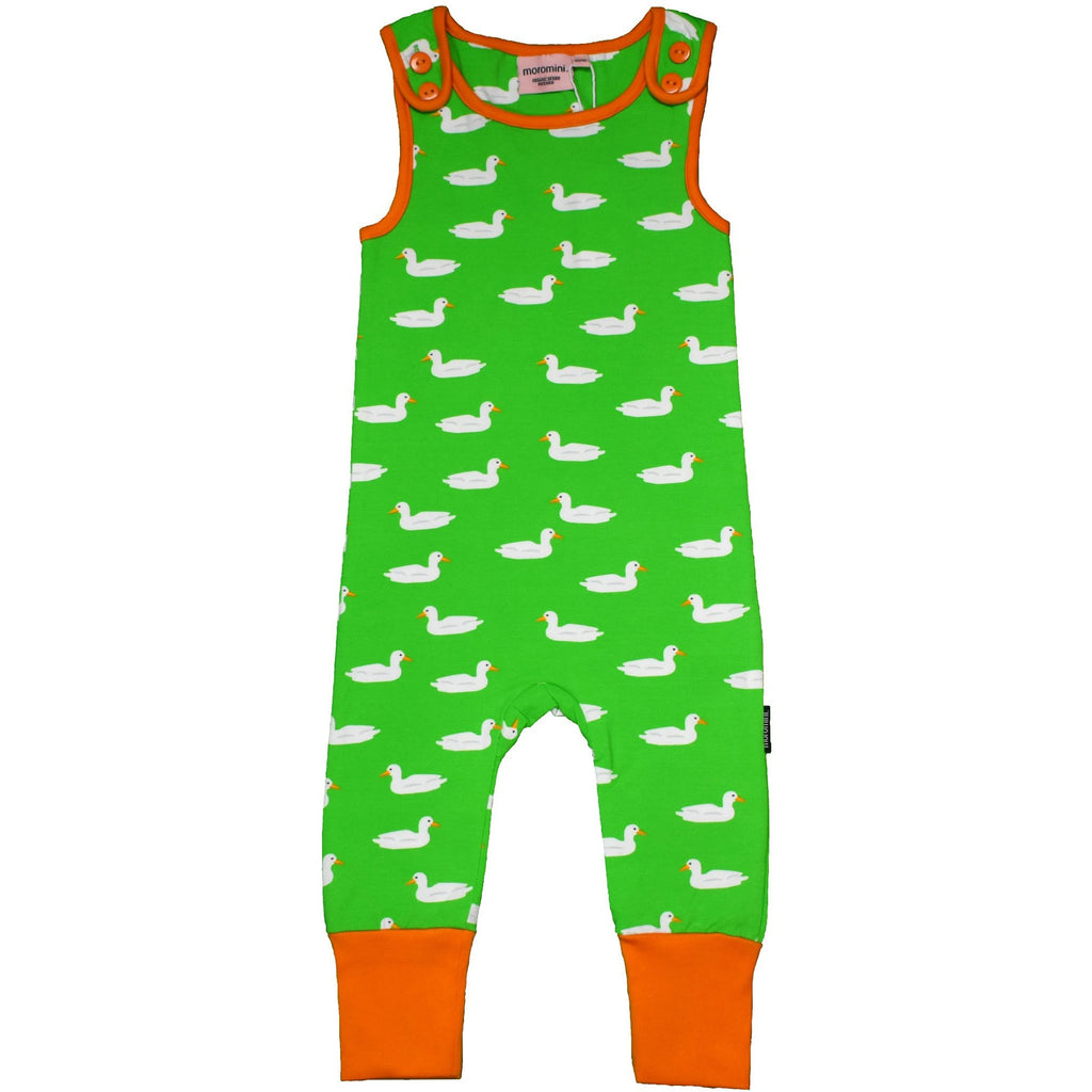 Moromini - Playsuit - Duck Pond GREEN
