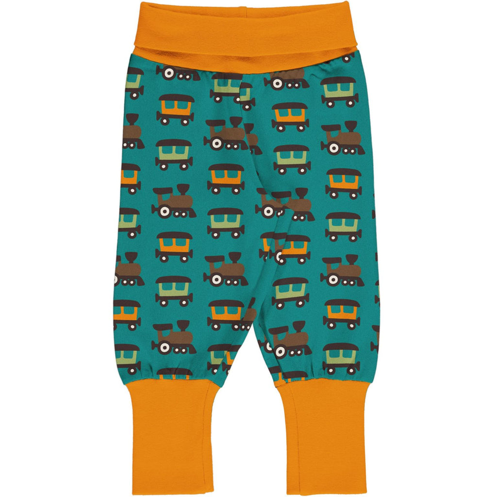 Maxomorra - Pants Rib Train (last two sz 3-6M & 9-12M)