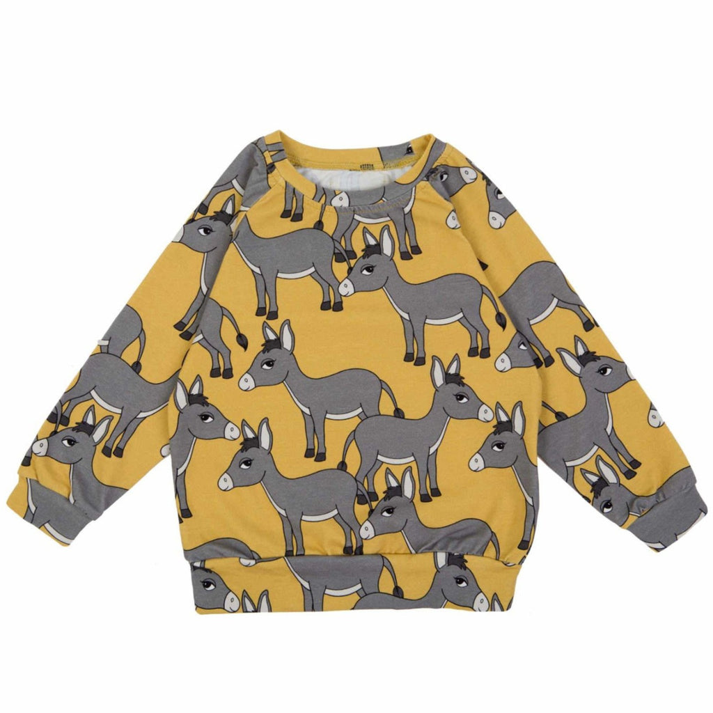 Dear Sophie - Donkey Yellow Longsleeve Top