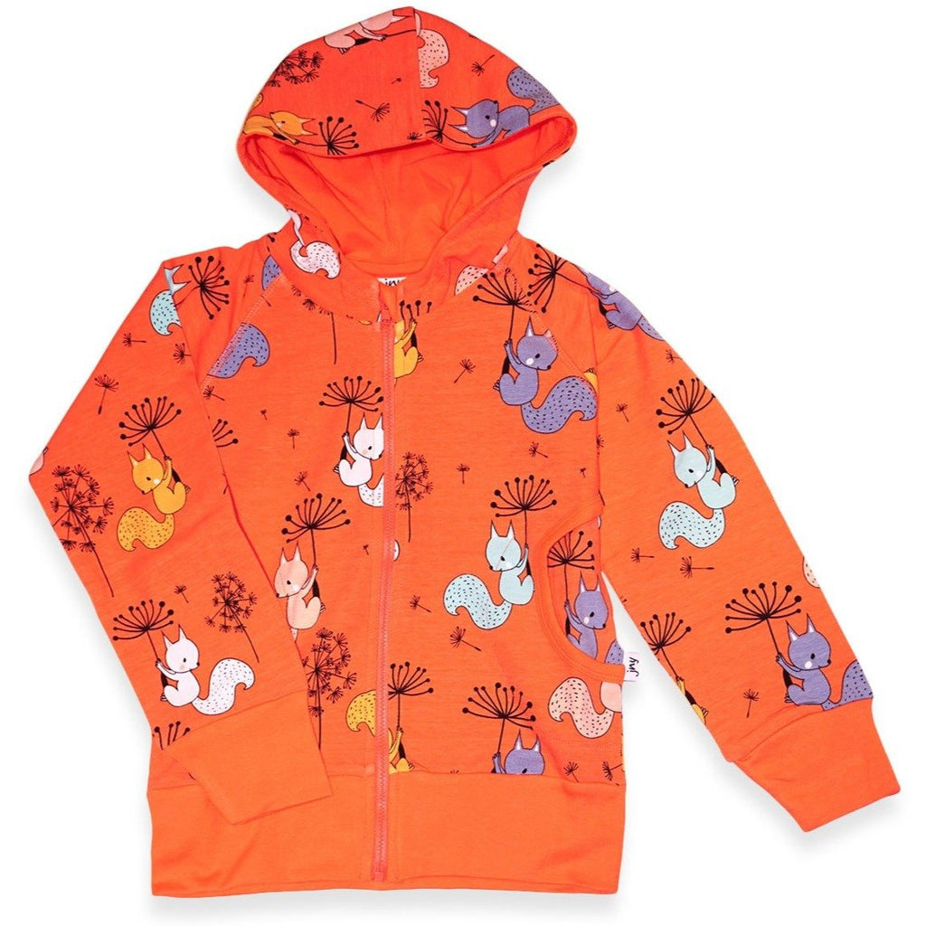JNY - Flying Squirrels Hoodie (last two sz 9-12M & 18-24M)