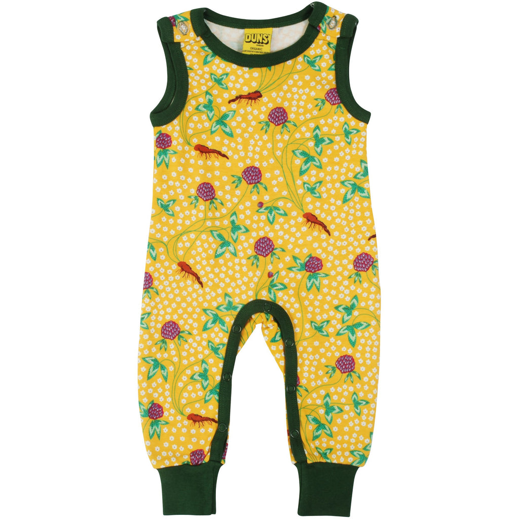 Duns Sweden - Red Clover Dungarees (last one sz 3-6M)