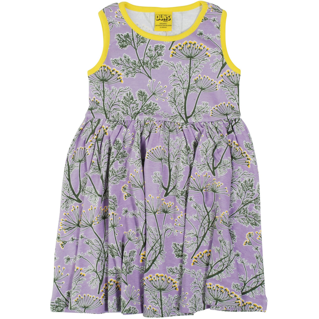 Duns Sweden - Dill Violet Sleeveless Twirly Dress (last one left sz 9-12M)