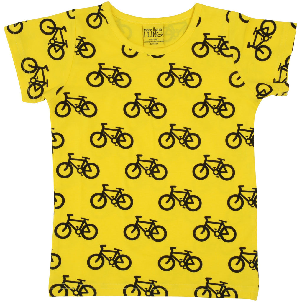 MORE THAN A FLING - Bike Yellow Long Sleeve Top