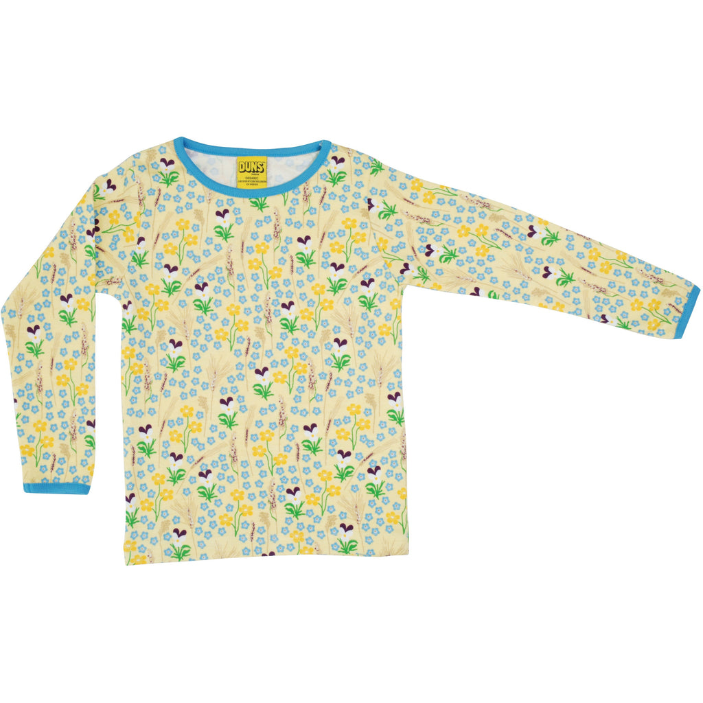 Duns Sweden - Meadow Yellow Long Sleeve Top