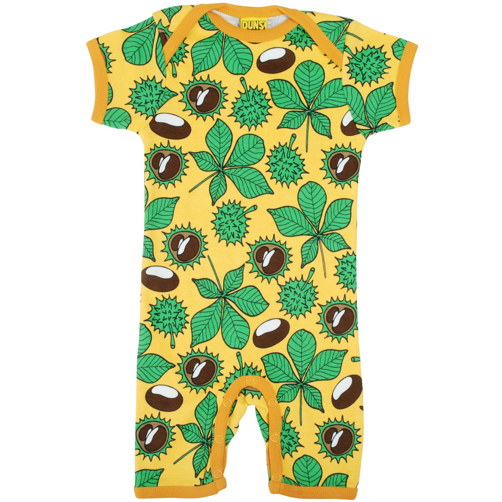 Duns Sweden - Chestnut Daffodil Yellow - Summer Suit (last one sz 9-12M)