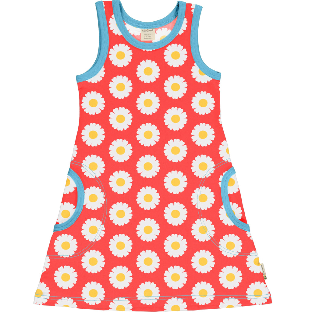 Maxomorra - Dress Daisy Sleeveless