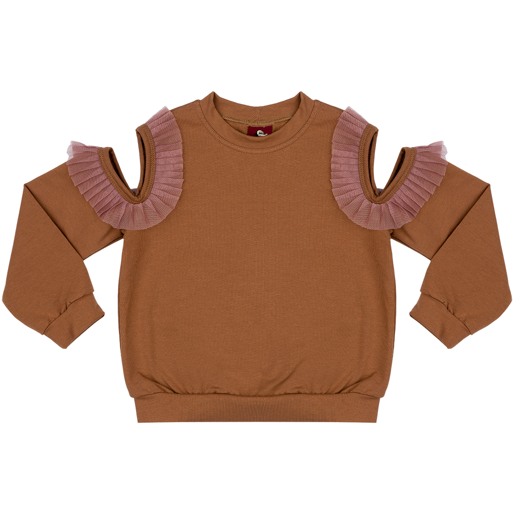 Jelly Alligator - Cut out Sweatshirt Gold Rush