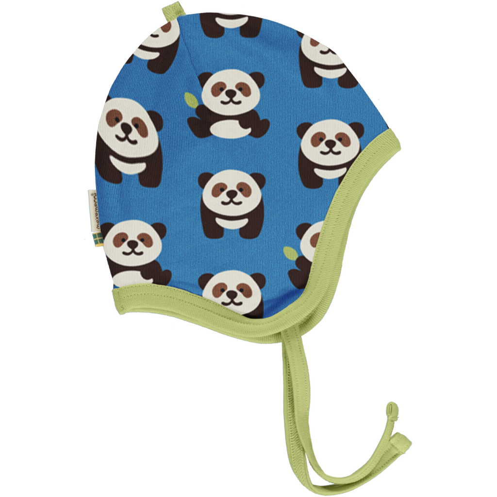 Maxomorra Hat Helmet - Playful Panda