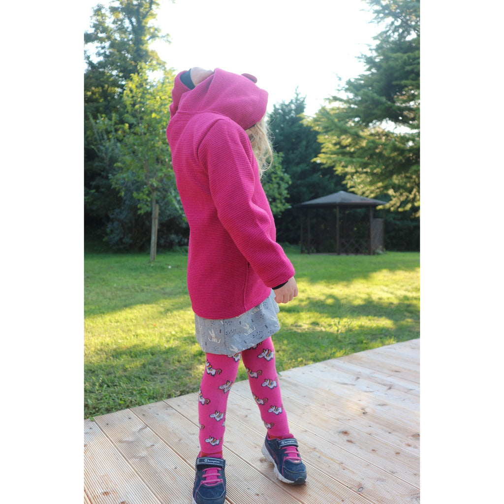 Forever is one second footless tights - Unicorn (last one sz 9-12M)