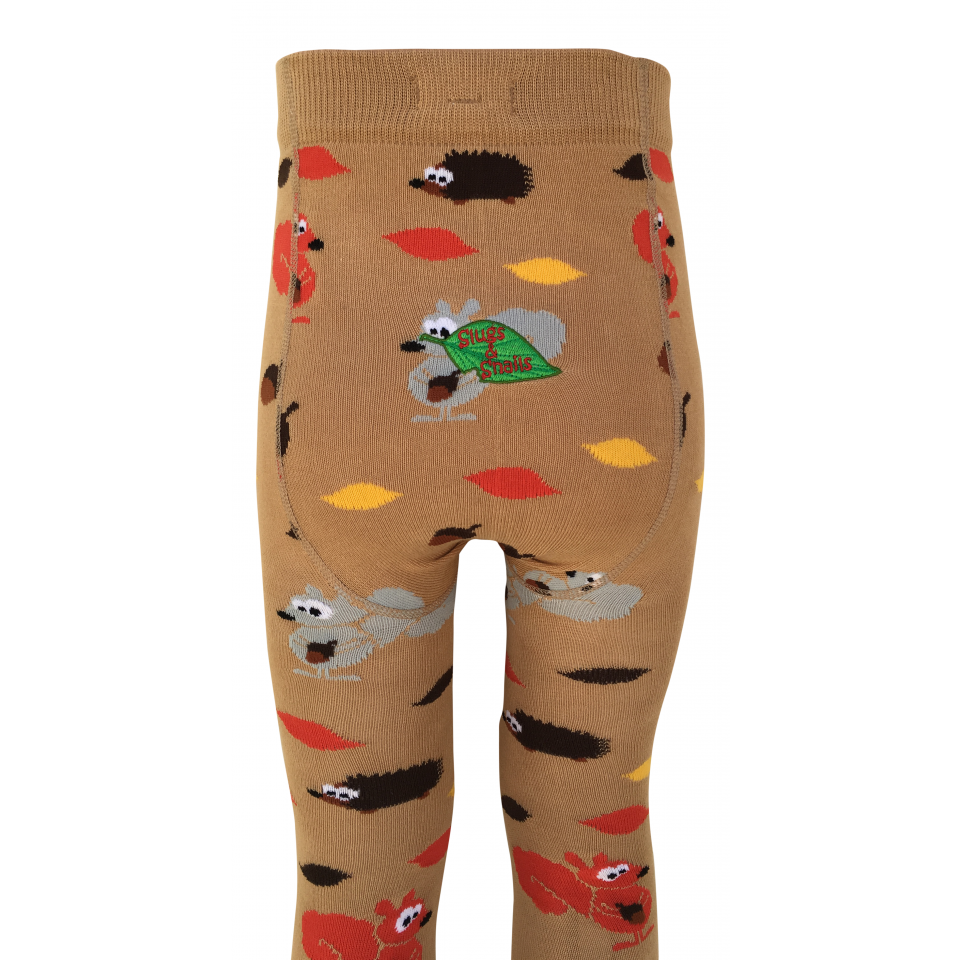 Slugs & Snails - Autumn Unisex Tights