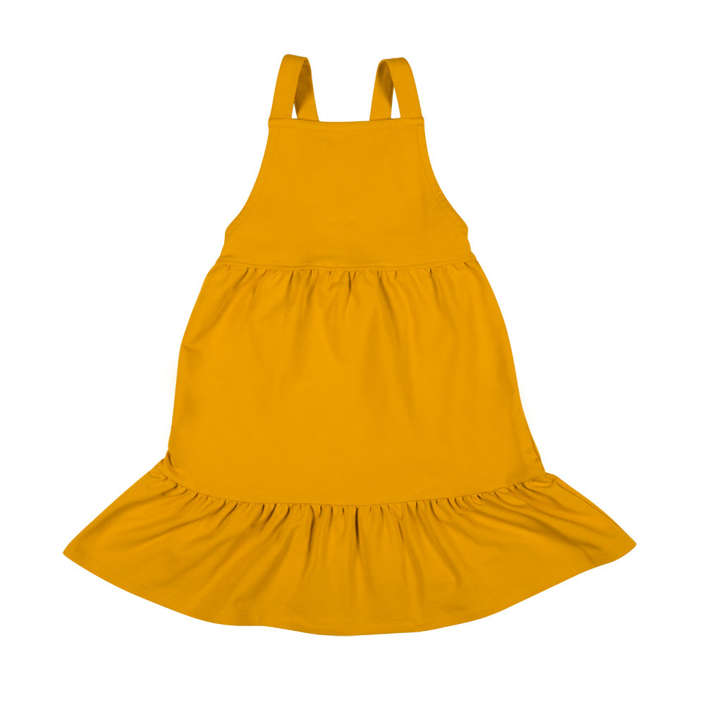 Dont Grow up - Yellow Pinafore Dress