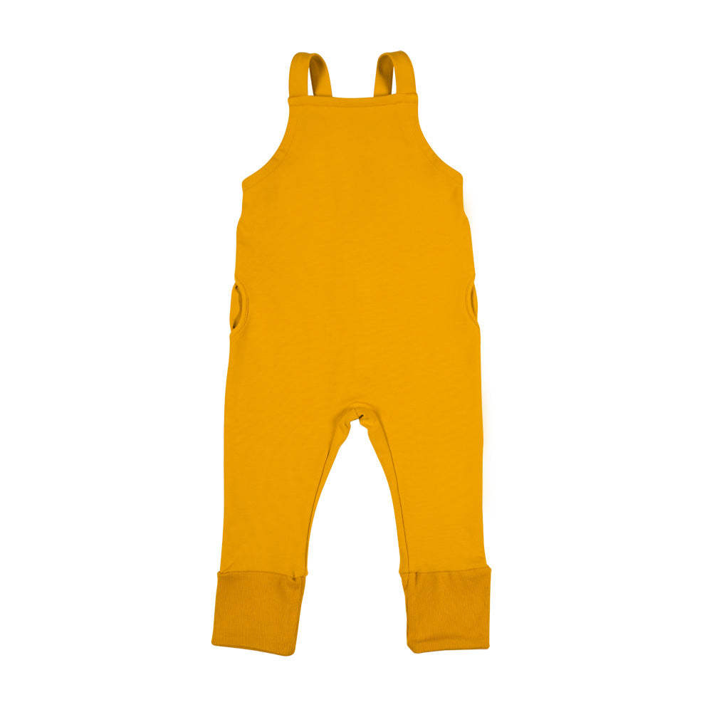 Dont grow up - Yellow Salopette Dungarees