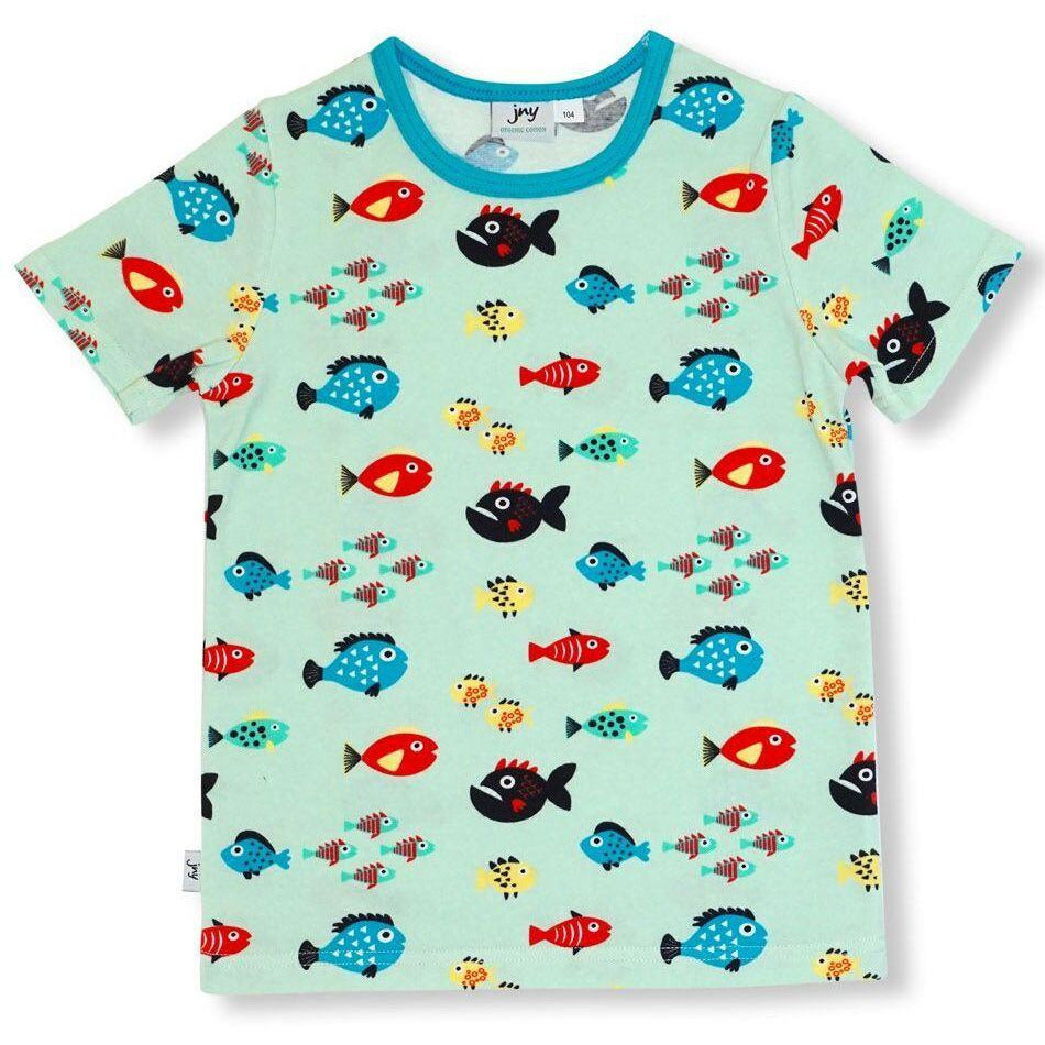 JNY - T-Shirt Swimming Fish - PopSee Online