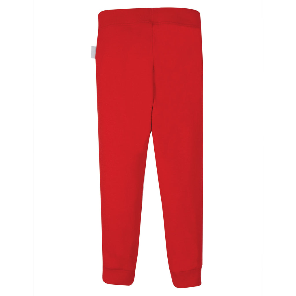 Frugi - True Red-Everyday Cuffed Legging
