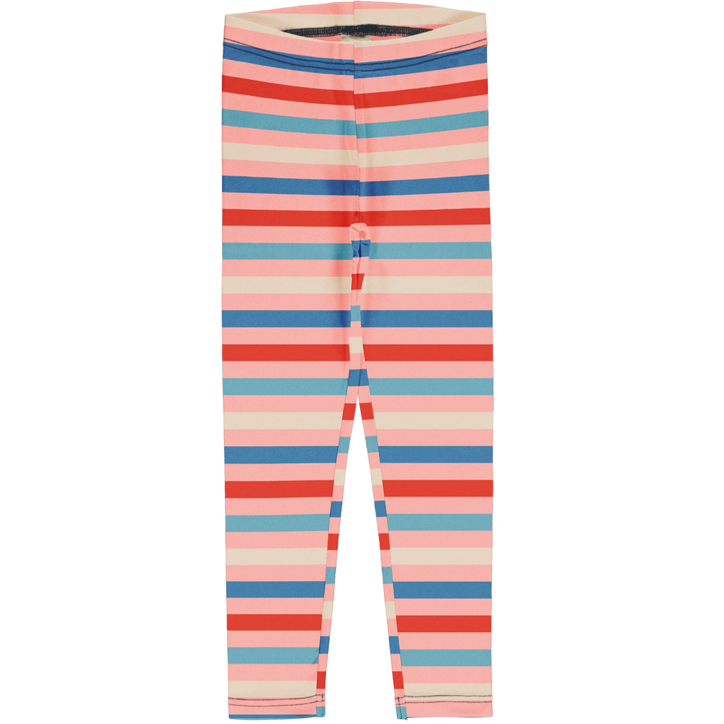Maxomorra - Leggings Stripe Blossom