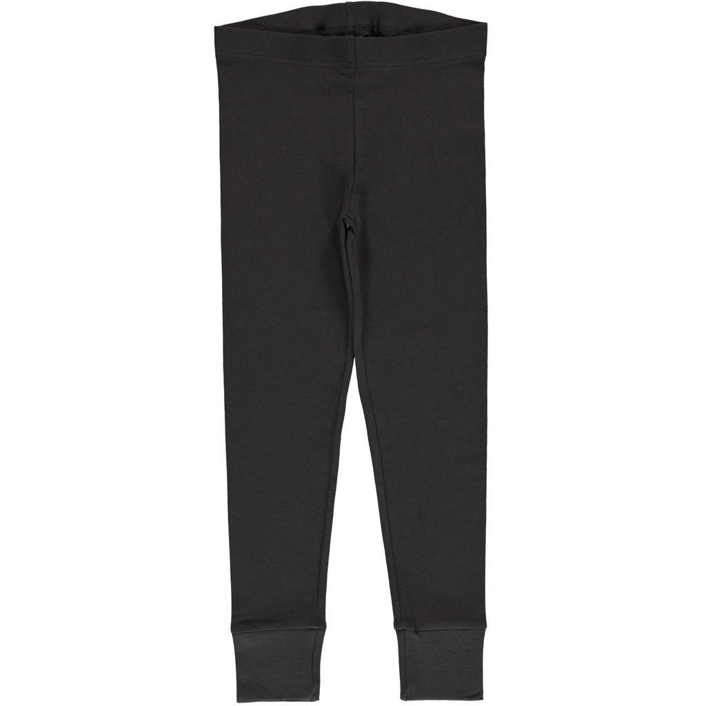 Maxomorra - Leggings Cuff Solid Graphite