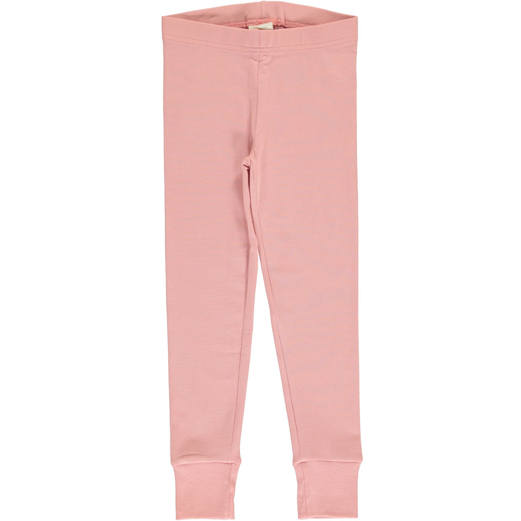Maxomorra - Leggings Cuff Solid Dusty Rose