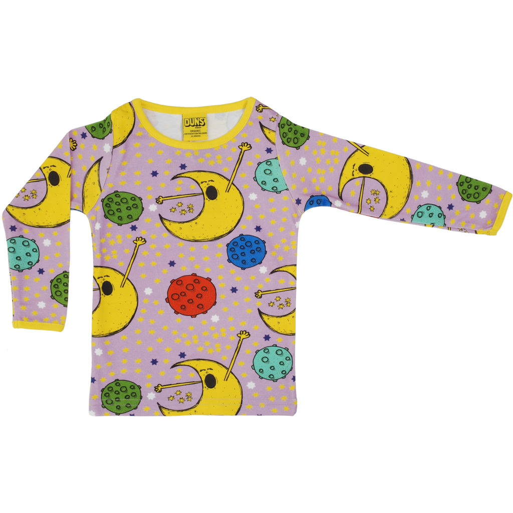 Duns Sweden - Man On The Moon Long Sleeve Top - PopSee Online