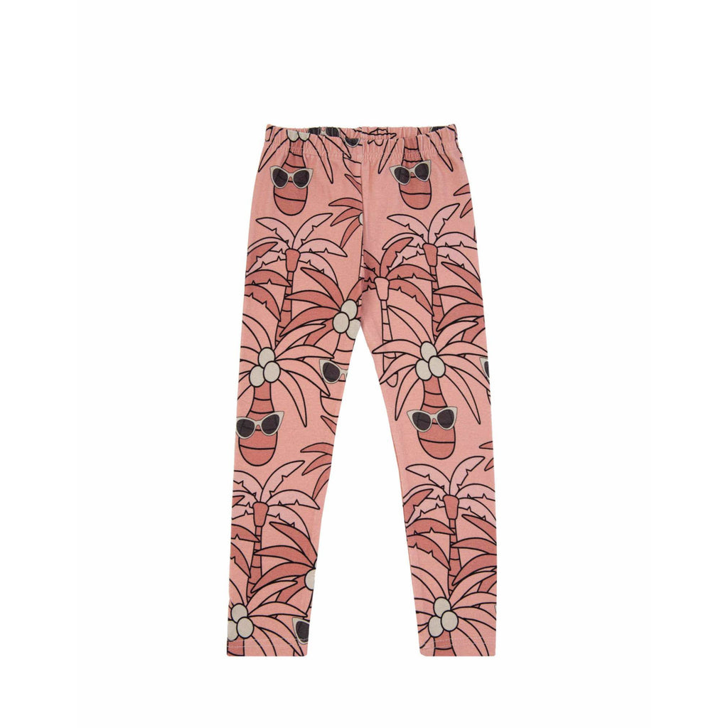 Dear Sophie - Pink Palm Leggings