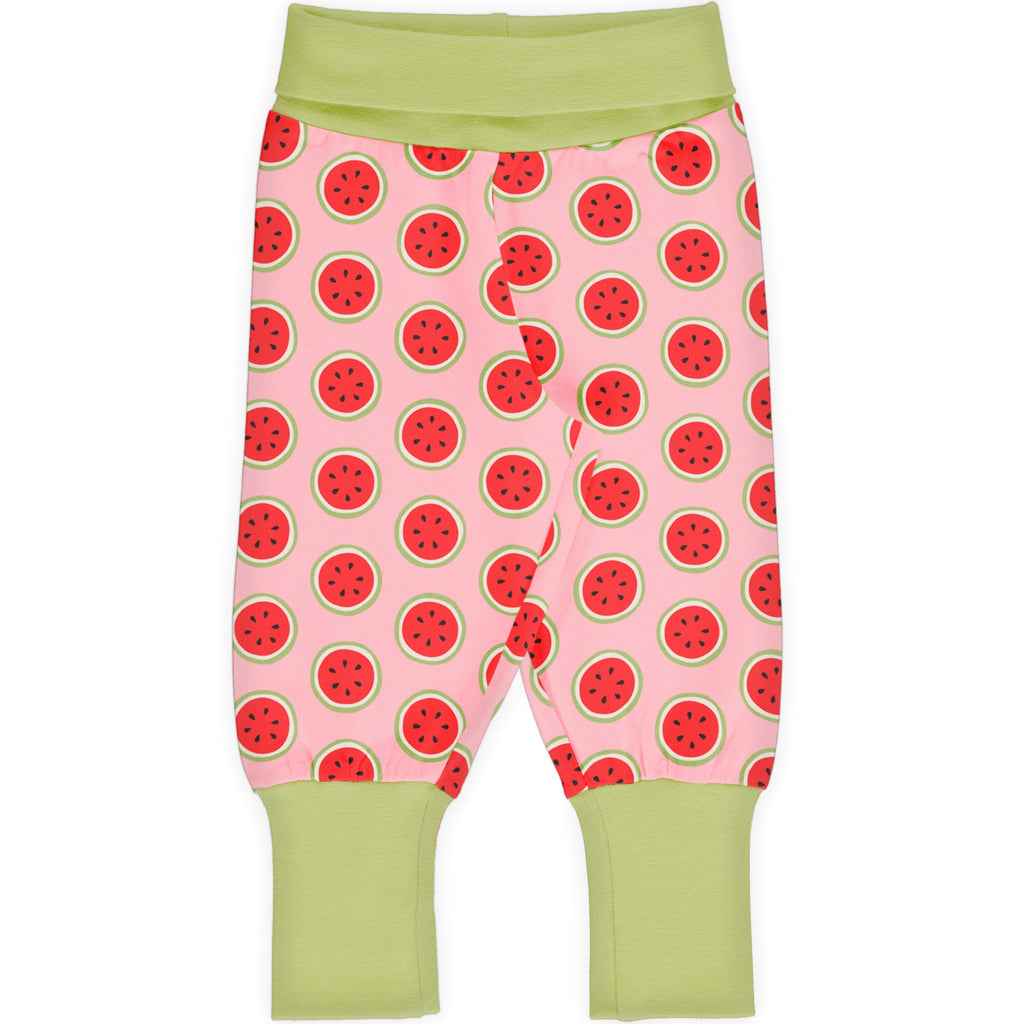 Maxomorra - Rib Pants Watermelon