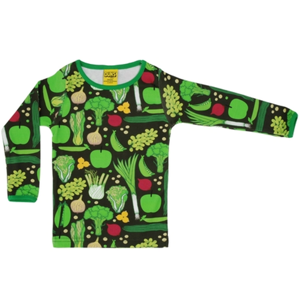 Duns Sweden - Eat Your Greens Long Sleeve Top - PopSee Online