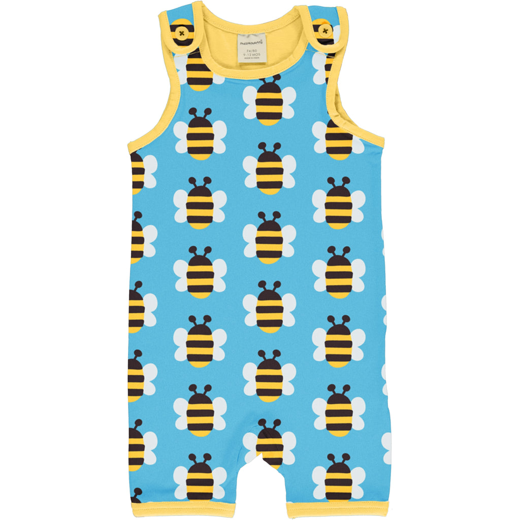Maxomorra - Playsuit Short Humble Bumblebee
