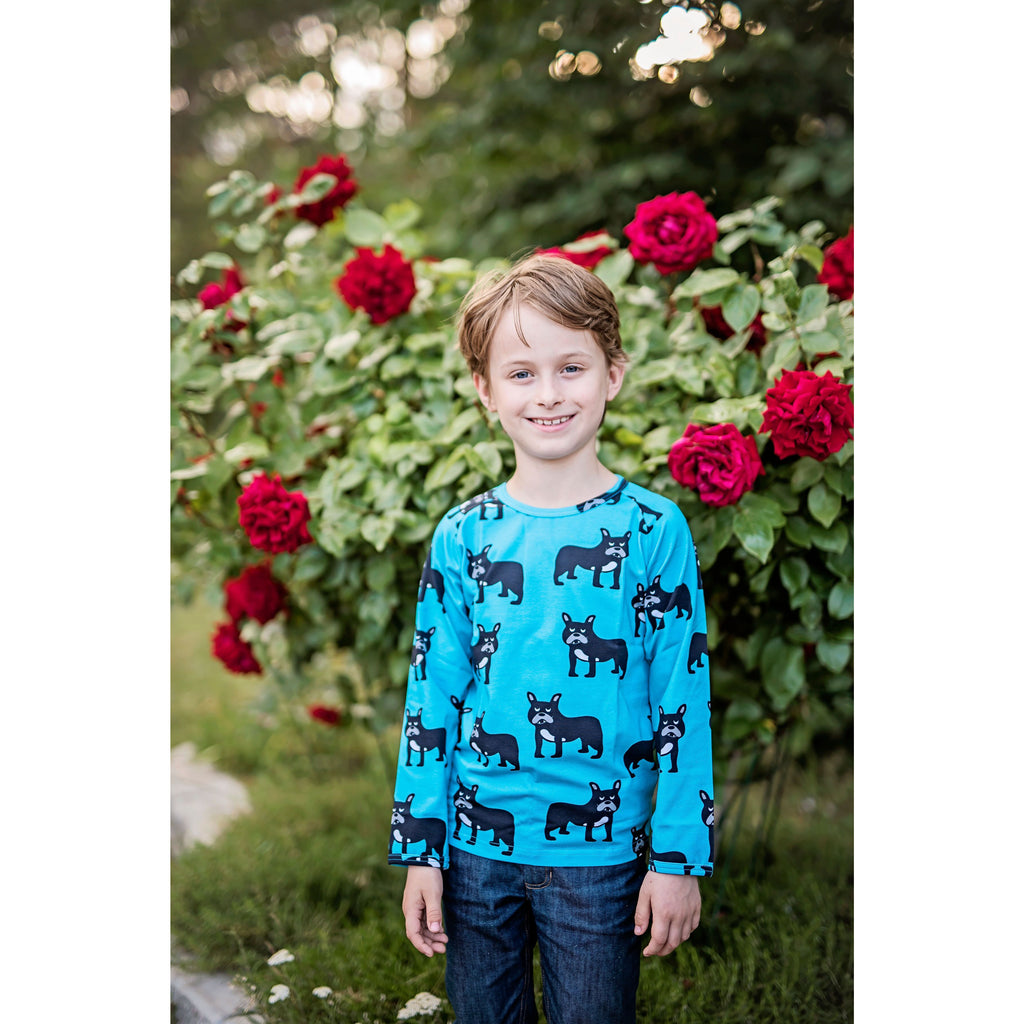 JNY - Long Sleeve Top | Bulldog (last one sz 5-6Y)