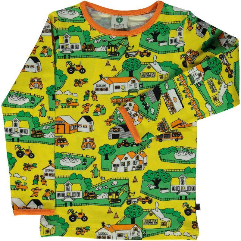 Smafolk - Long Sleeve T-Shirt Landscape (last one sz 5-6Y)