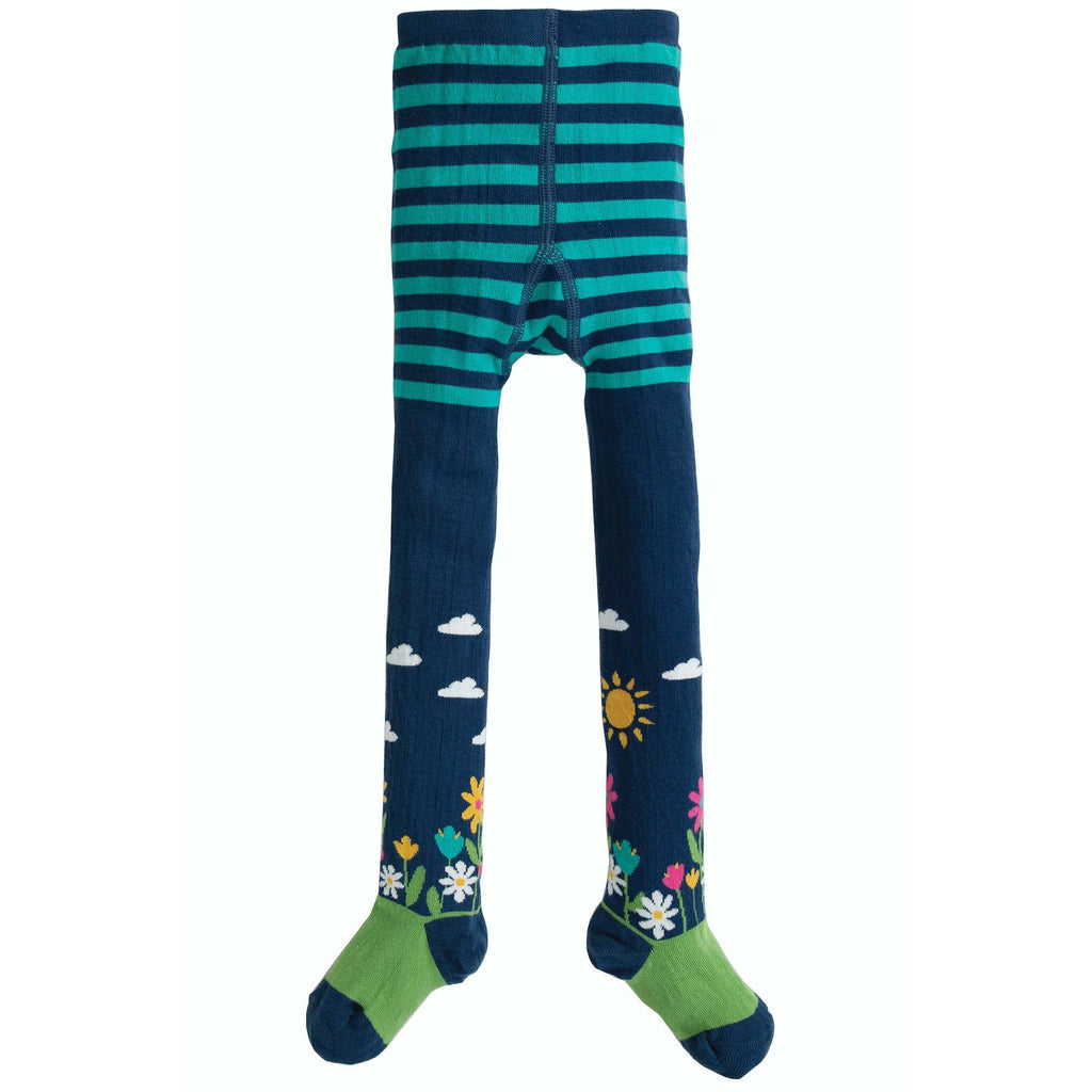 Frugi - Space Blue/Flower Garden