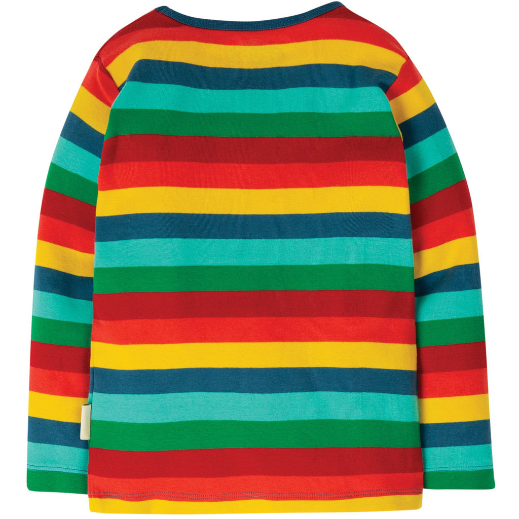 Frugi - Favourite Rainbow Long Sleeve Tee (last one sz8-9Y)