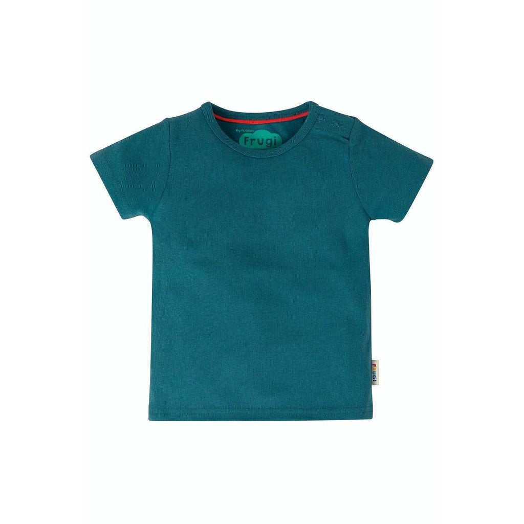 Frugi - Favourite T Shirt Steely Blue