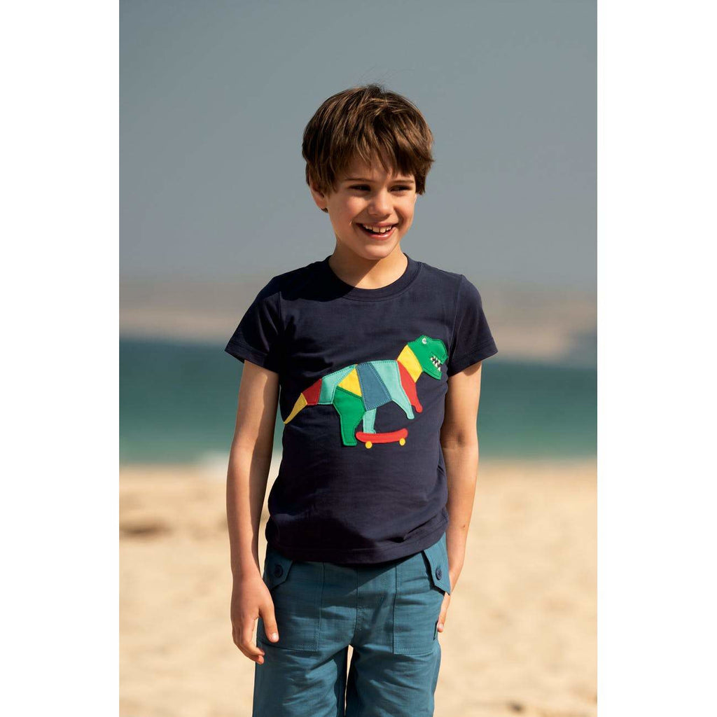 Frugi - Stanley Applique T-Shirt (last one sz 4-5Y)