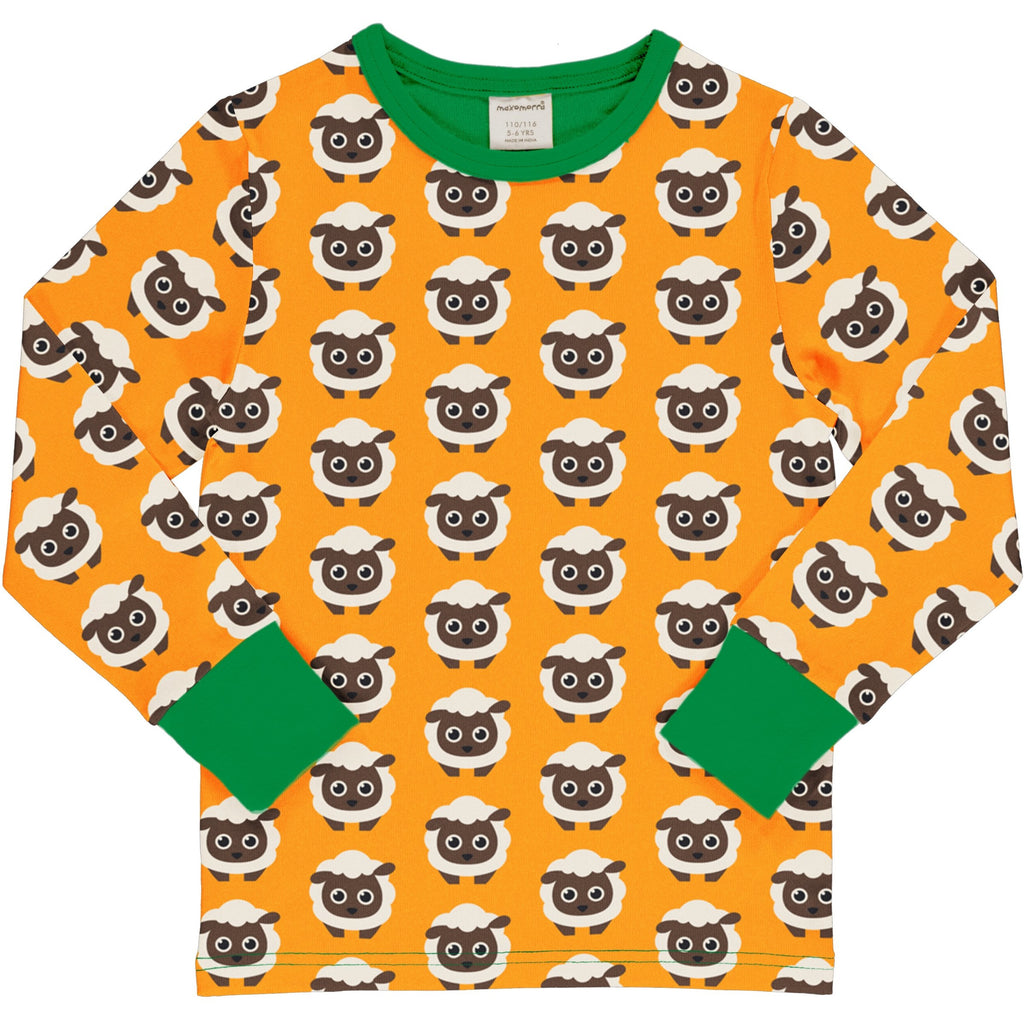Maxomorra - Long Sleeve Top Classic Sheep