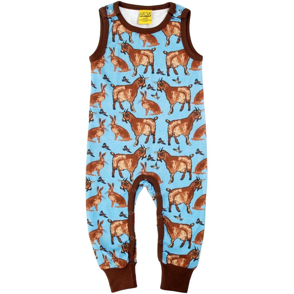 Duns Sweden - Goat Turquoise Dungaree - PopSee Online