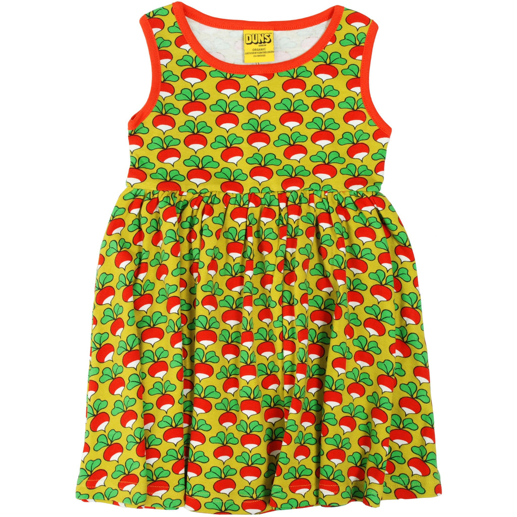Duns Sweden - Radish Lemonade Sleeveless Dress W Gather Skirt - PopSee Online