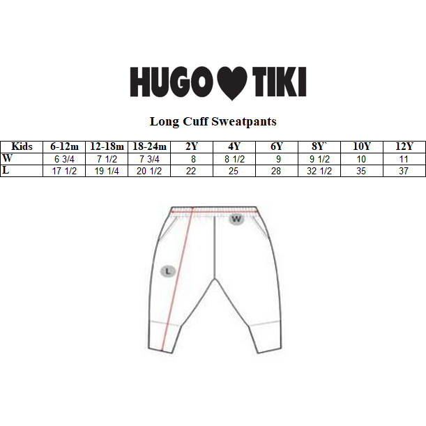 Hugo Loves Tiki - Green Pickles Sweatpants