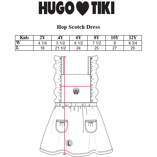 Hugo Loves Tiki - Apples Hopscotch Dress