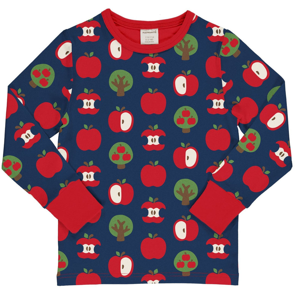 Maxomorra - Long Sleeve Top Apple