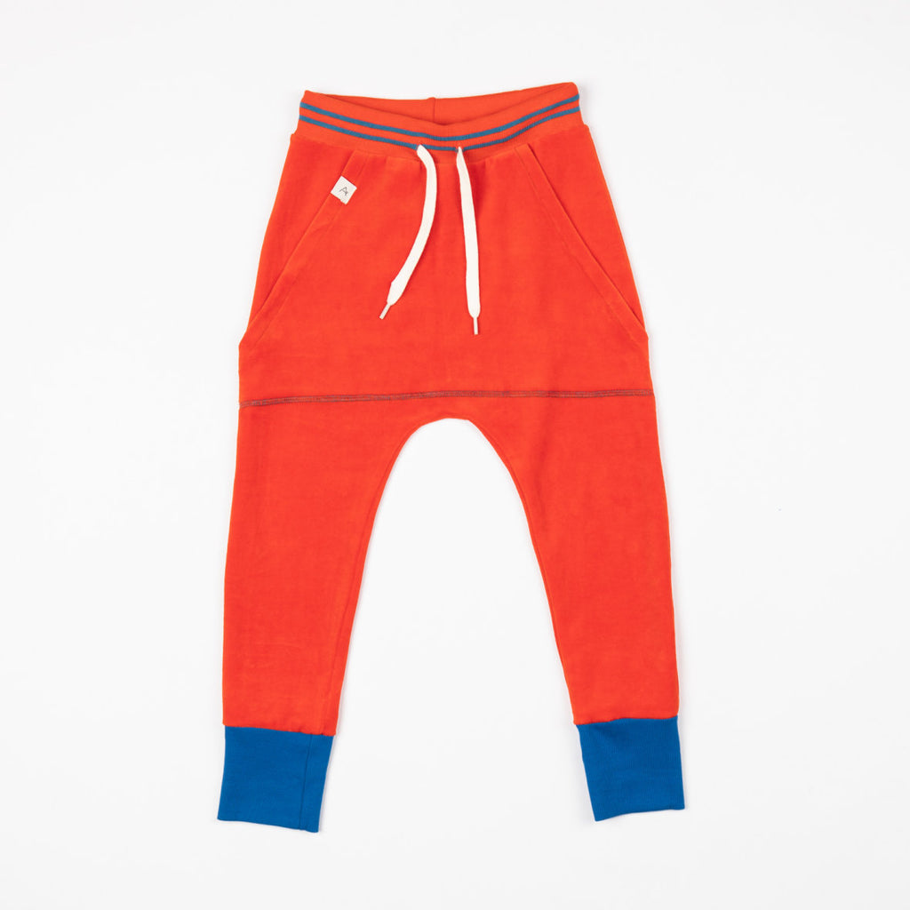 Alba of Denmark - Spicy orange - Classic everyday pants (last two sz 2-3Y & 6-7Y)