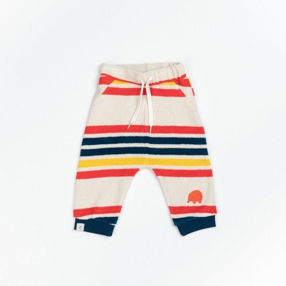 Alba of Denmark - Lucca Baby Pants Cherry Tomato Multi Magic Rainbow