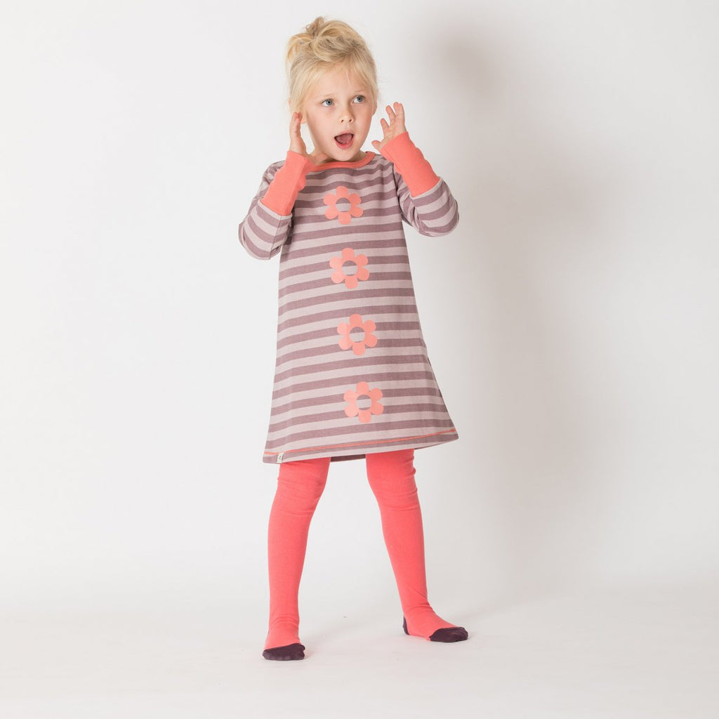 Alba of Denmark - Thea Tights - Spiced Coral - PopSee Online