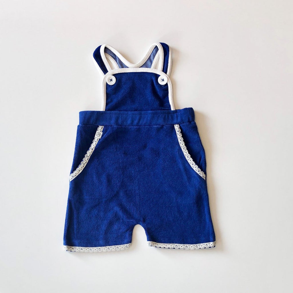 Alba of Denmark - Gert Short Crawlers Solidate Blue - PopSee Online
