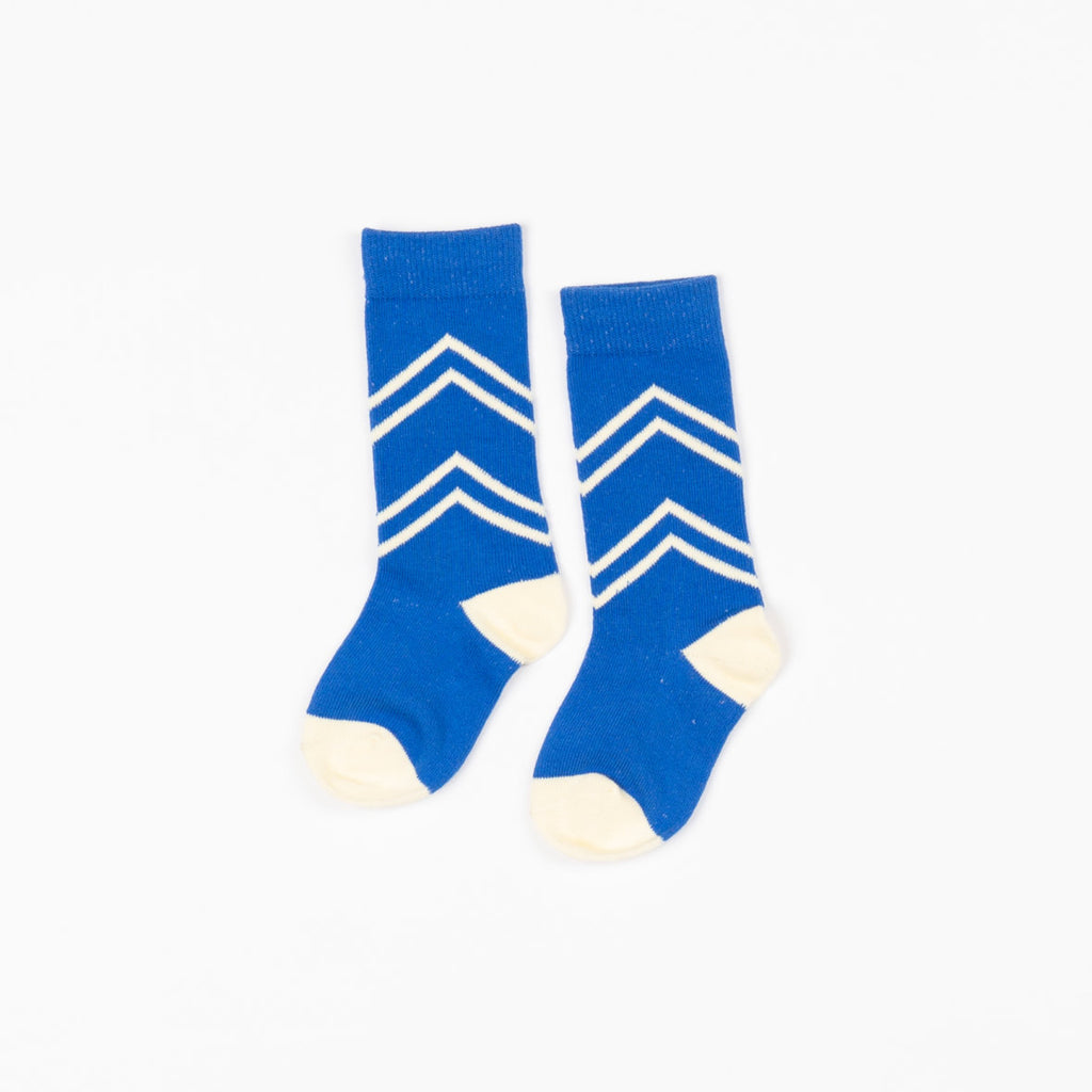 Alba of Denmark - Snorkel Blue Annie Knee High Socks (last one sz 18-24M)