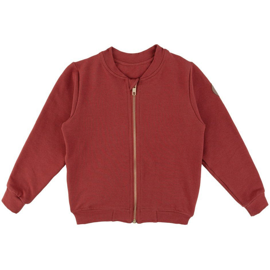 Dear Sophie - Cow - Bomber Jacket Red***Pre-order***