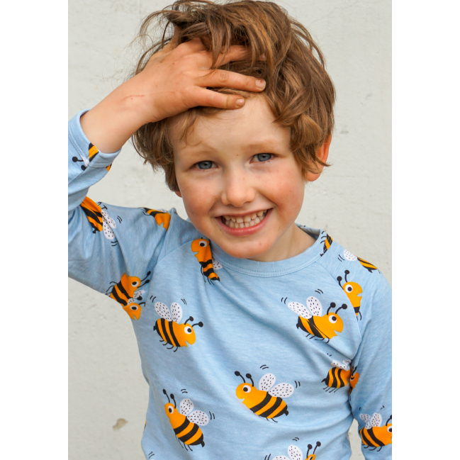 JNY - Bumblebee long sleeve top (last two sz 9-12M & 6-7Y)