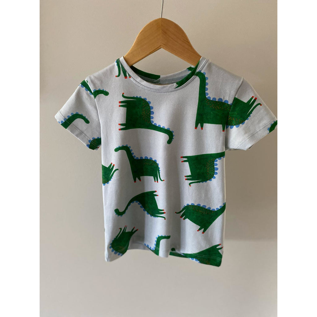 Don't grow up - Dino T-Shirt (last two sz 2-3Y & 7-8Y)